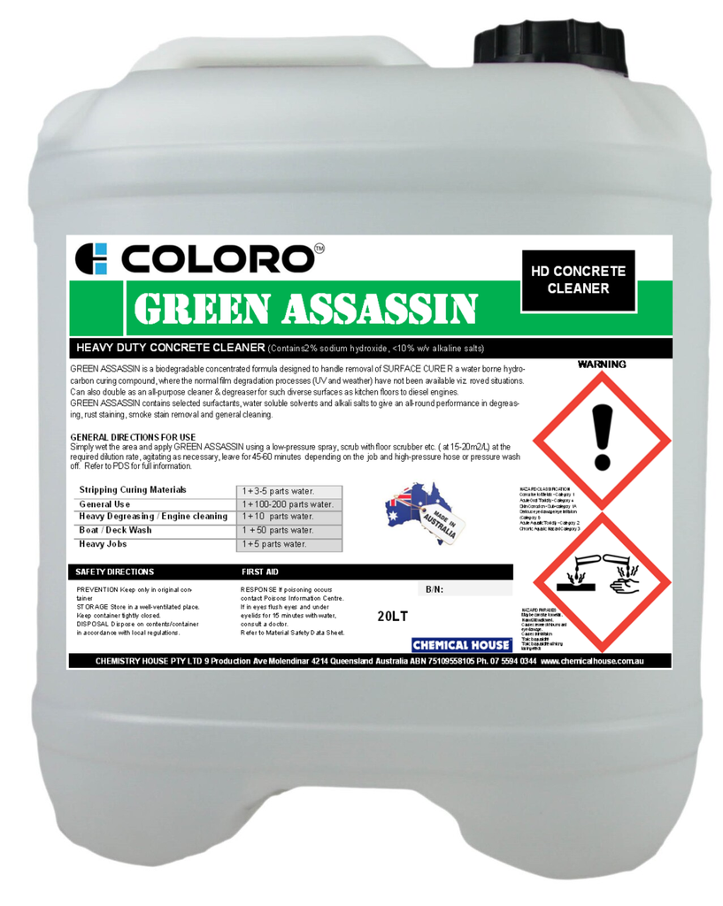 COLORO GREEN ASSASSIN 20L